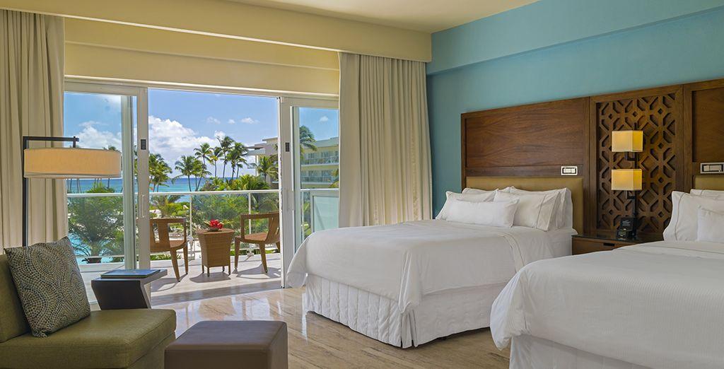 En commençant par vous relaxer dans votre chambre Traditionnelle vue mer