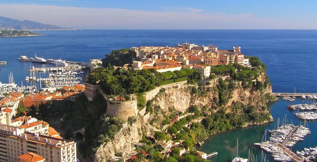 Et pourquoi pas le rocher de Monaco !