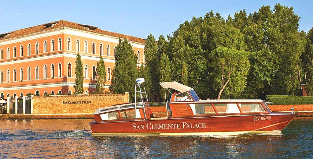 Rejoignez Venise en bateau depuis votre hôtel