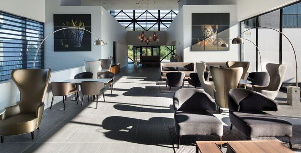 Un hôtel luxueux et résolument design