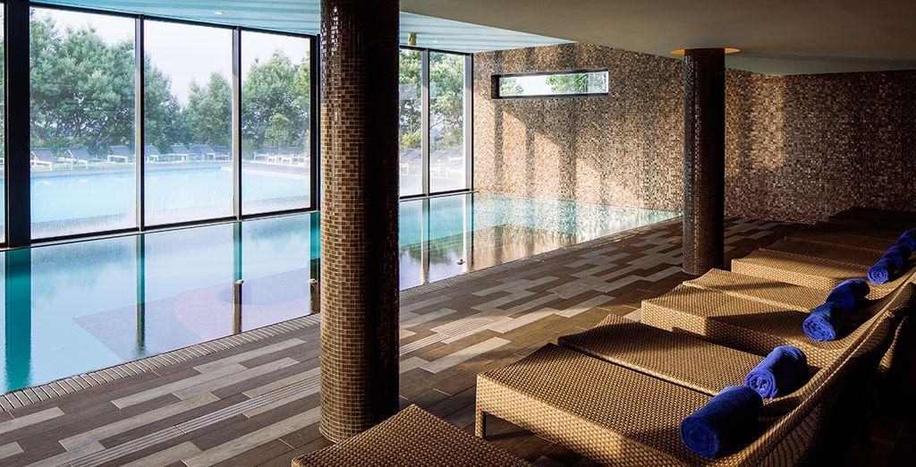 De la piscine intérieure à l'ambiance cosy