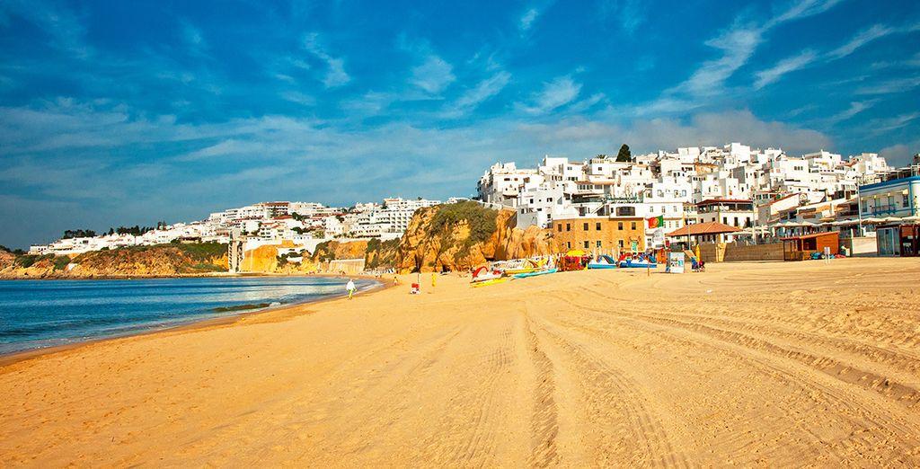 Et l'incontournable Albufeira, aux plages sublimes