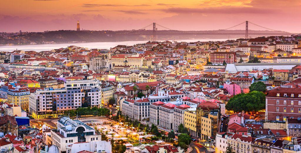 Alors direction Lisbonne