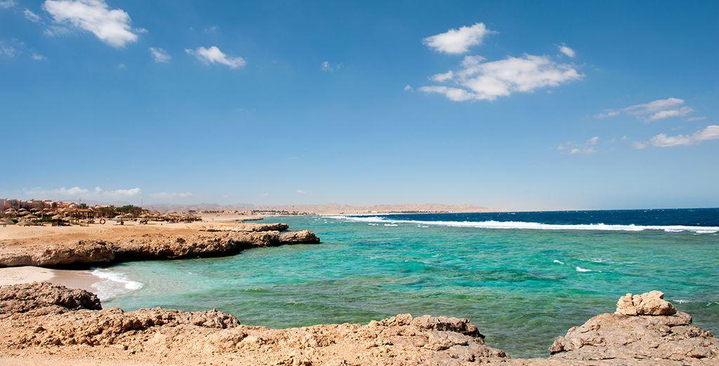 Revenez séduit par la sublime région de Marsa Alam.