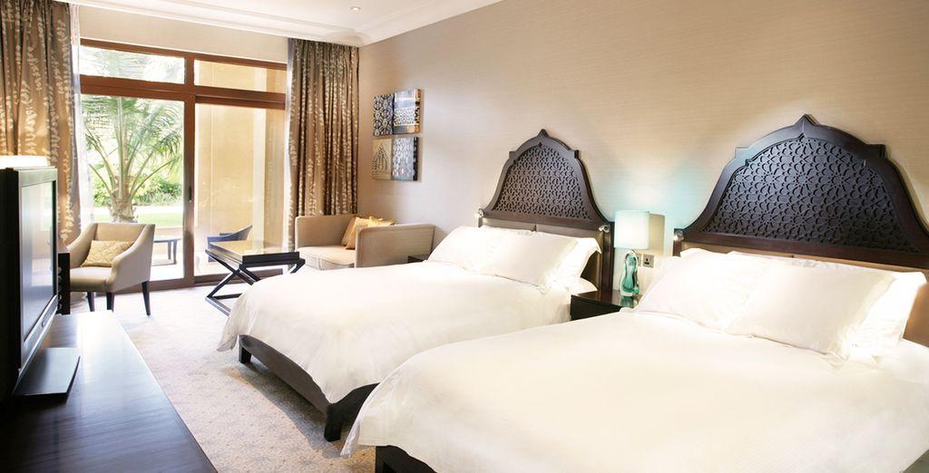 Installez-vous dans le confort de votre chambre Guest