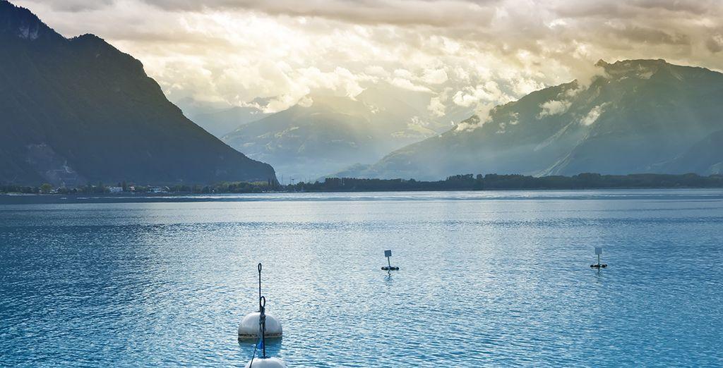 Sur les bords du Lac Léman