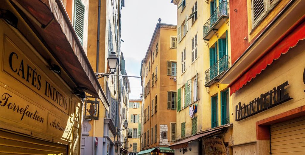 Déambulez dans le vieux Nice