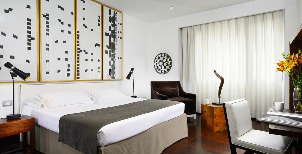 Découvrez une confortable chambre Supérieure
