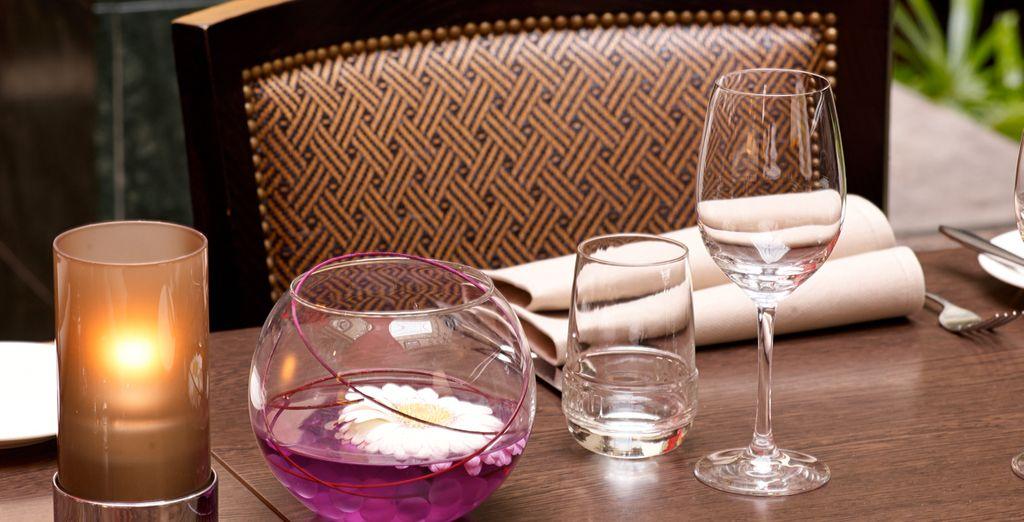 Pour un diner romantique à souhait