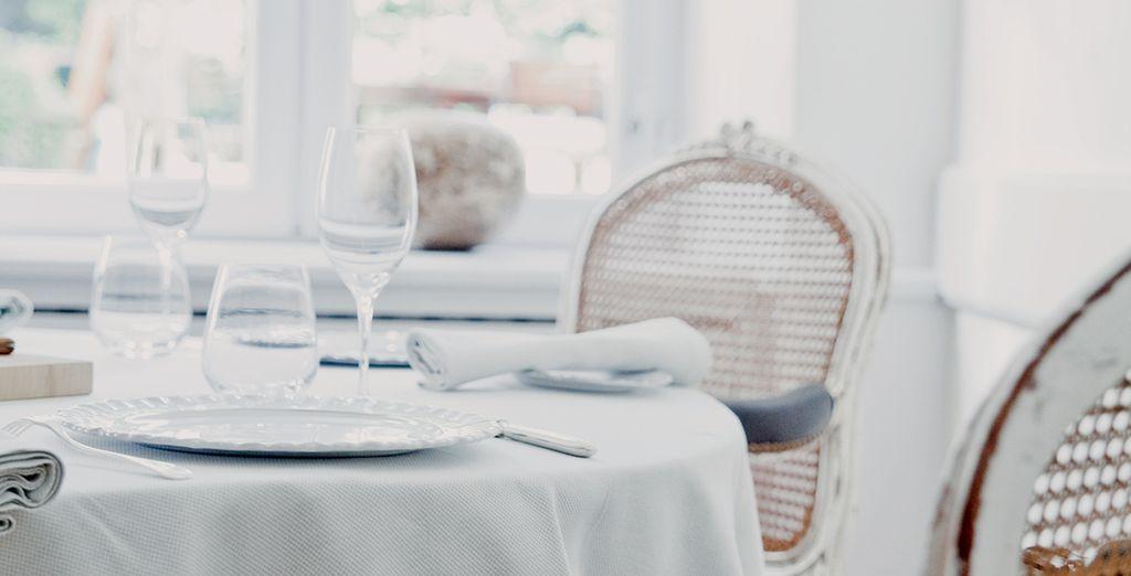 Vous serez subjugué par le restaurant gastronomique de l'hôtel signé Alain Ducasse