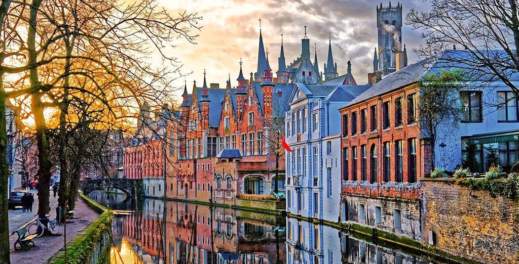 Au cœur de la romantique Bruges...