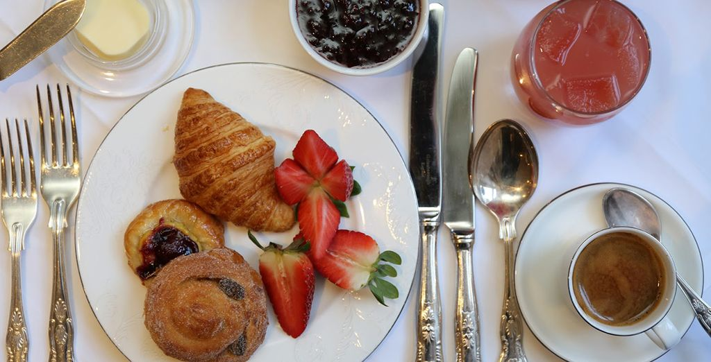 Et prenez un petit déjeuner varié et complet !