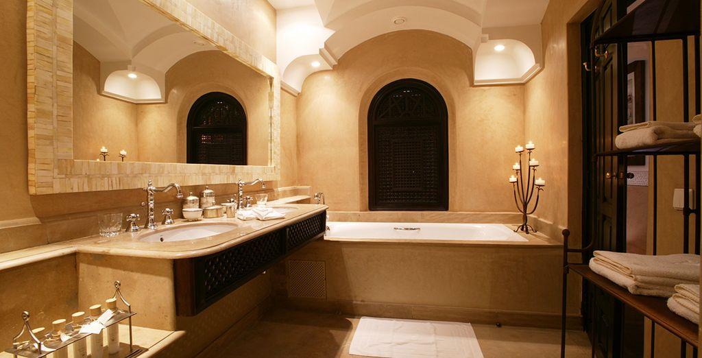 Sa sublime salle de bains