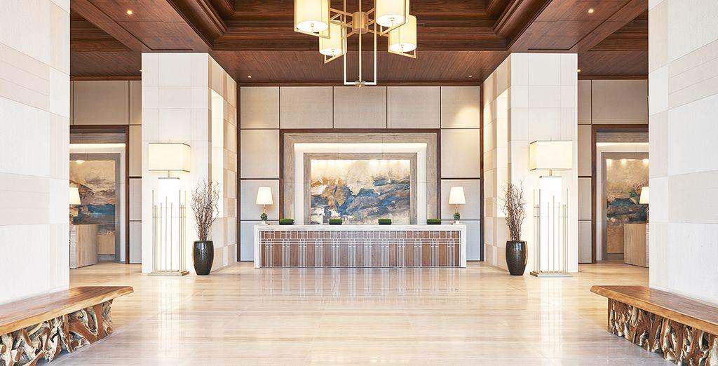 Le bel hôtel Westin Dubai Al Habtoor City 5* vous ouvre les portes...