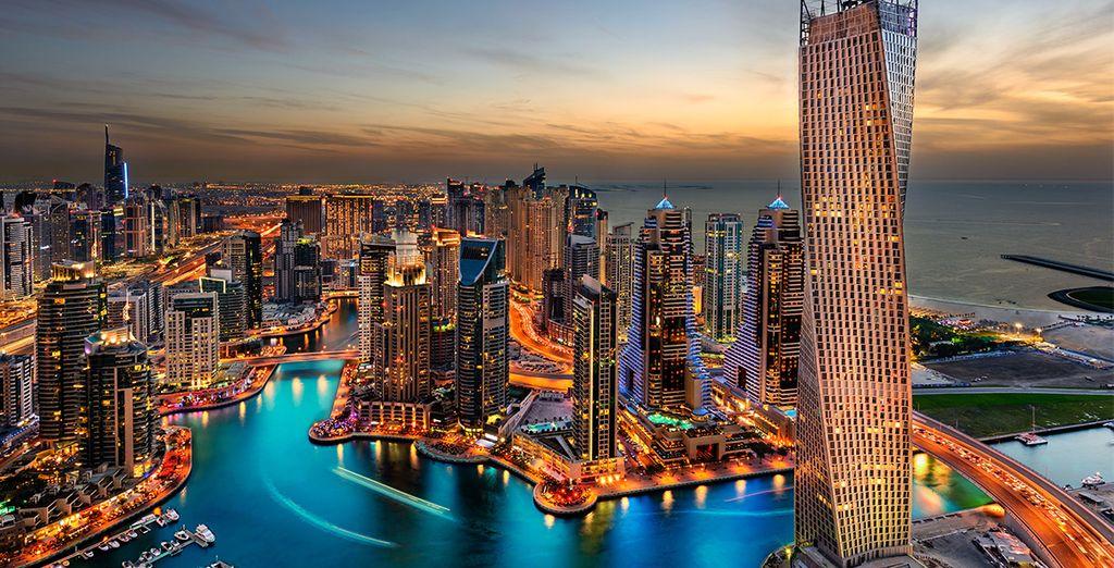 Sans manquer l'incroyable Dubai toute proche