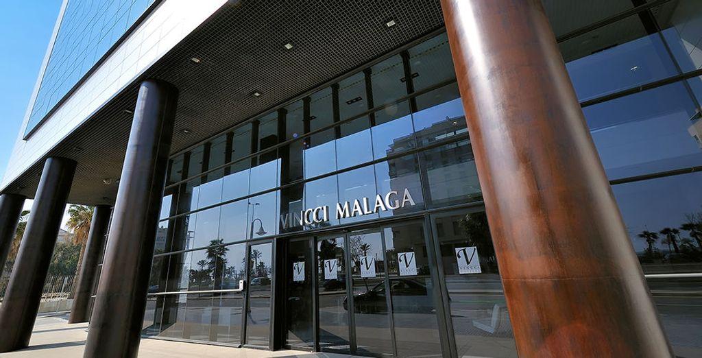 L'hôtel Vincci Malaga !