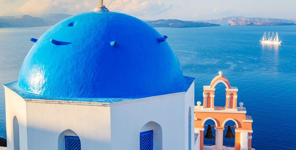 Et serez conquis par le charme des îles grecques