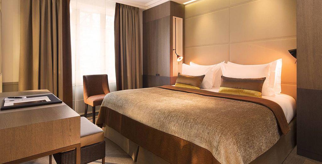 Ou choisissez la chambre Villa Deluxe