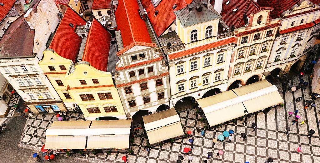 Fotografia della città di Praga