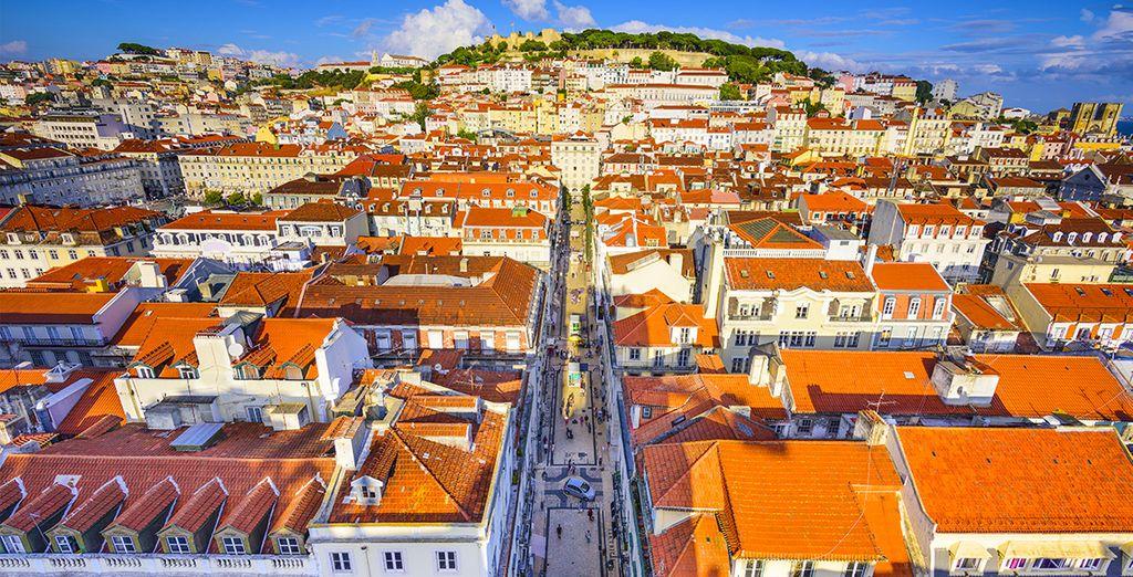Vous apprécierez Lisbonne vue du ciel