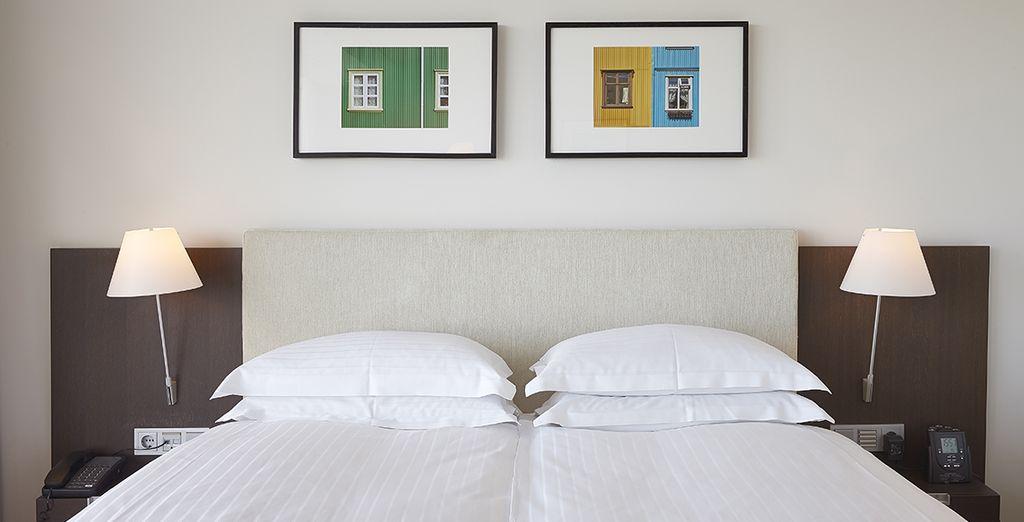 Votre chambre sera un véritable havre de paix dans laquelle vous adorerez vous retrouver