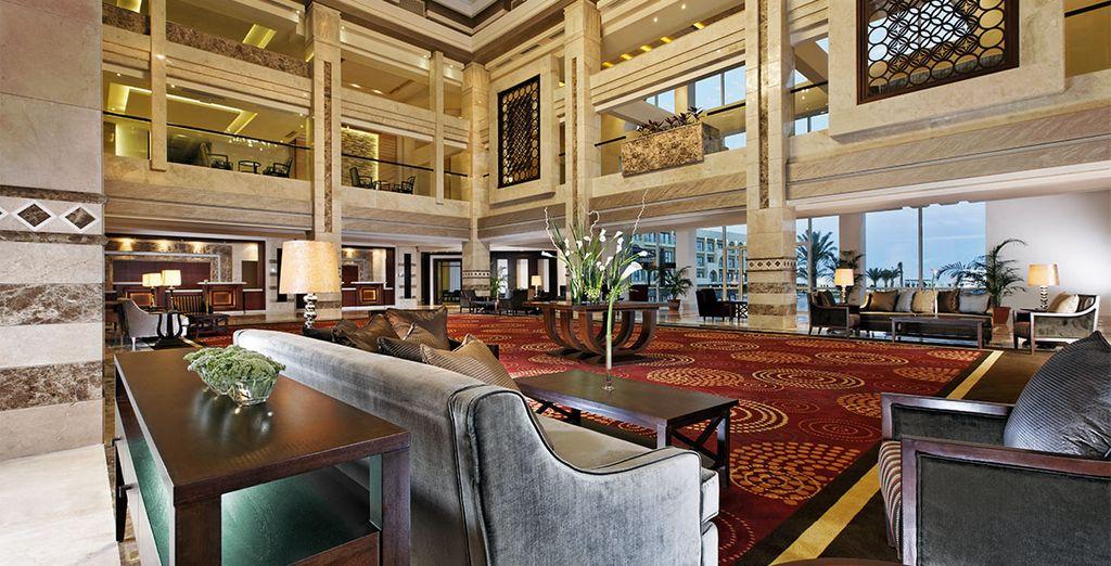 Pour cela, immiscez-vous dans le luxe du Movenpick Resort Soma Bay