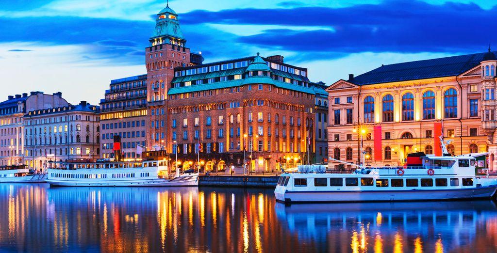 Direction la Venise du Nord : Stockholm !