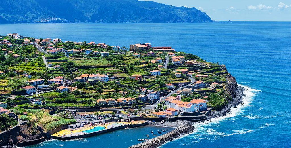 Partez à la découverte de la superbe île de Madère...