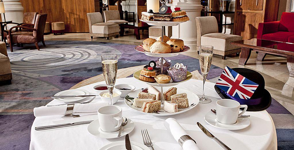 Partagez des moments de convivialité et de détente autour d'un afternoon tea