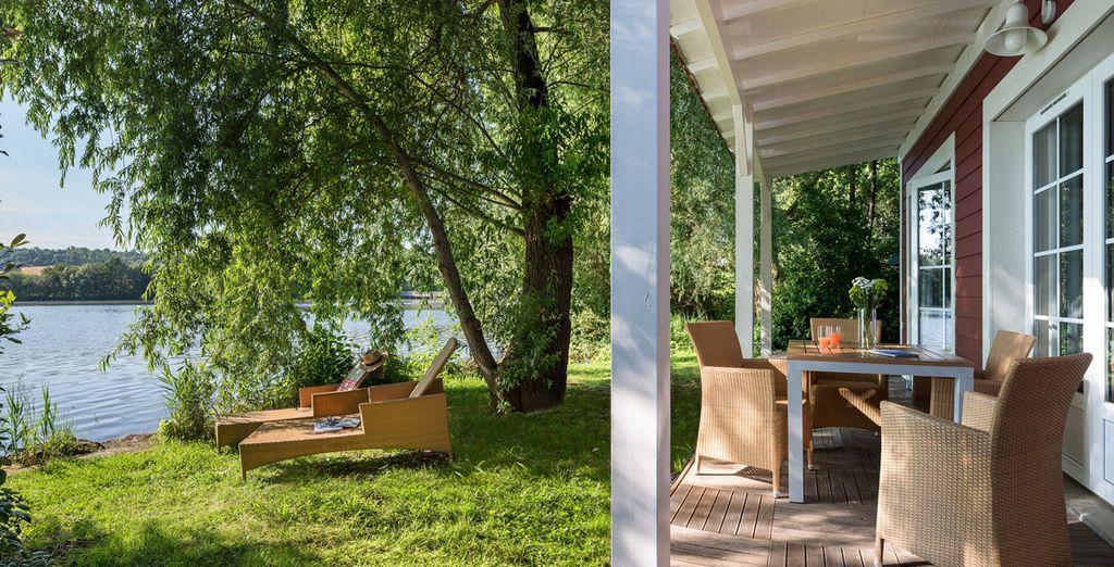 Craquez pour le Cottage Premium Nouveau Design Bord de Lac !