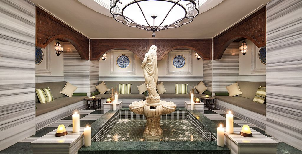Et un temple du bien-être vous invitera à vous relaxer