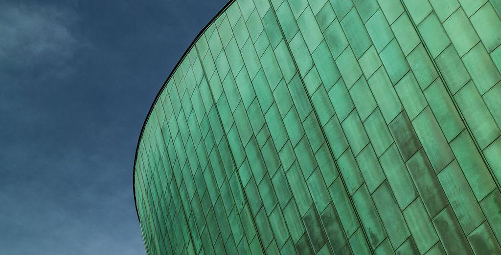Aux surprises architecturales...