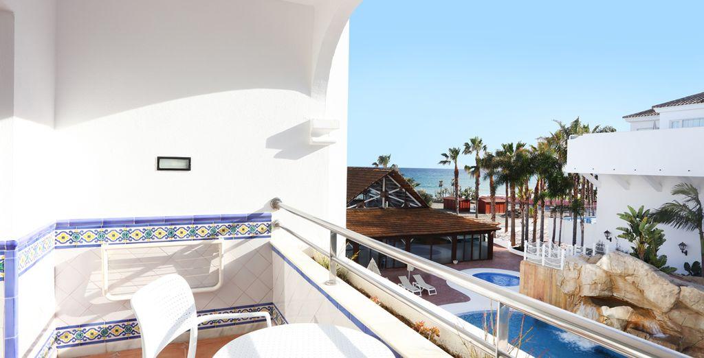 Prenez le soleil sur votre balcon