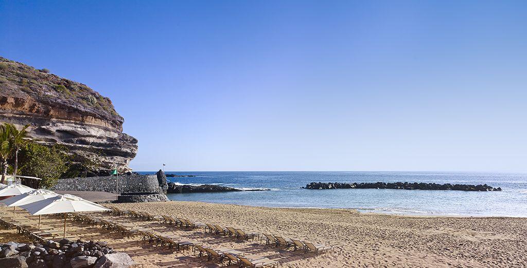 Puis rejoignez la plage sans plus attendre...