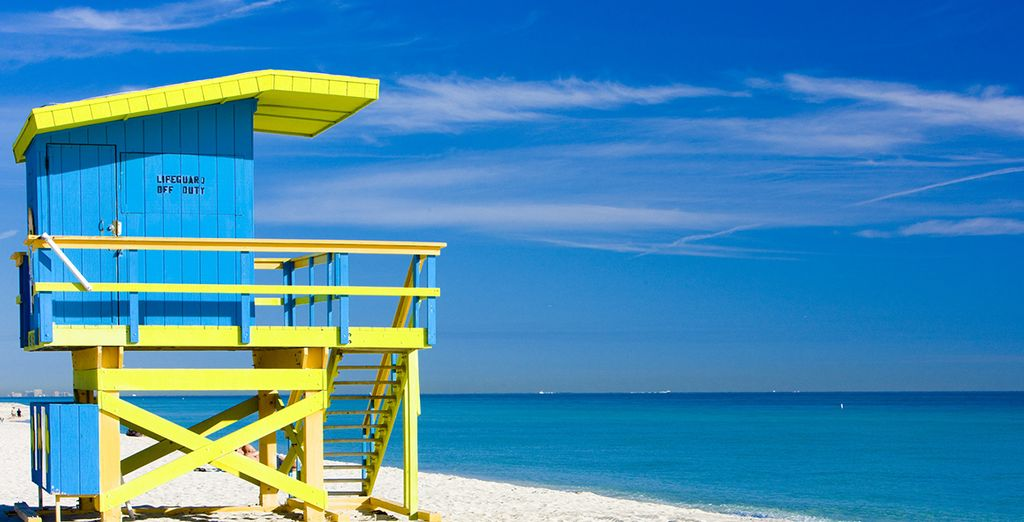 Bienvenue sur les plages de Miami
