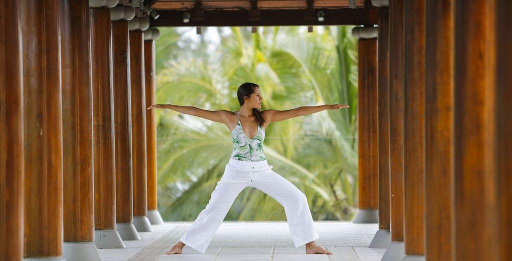 Pendant que vous pourrez vous adonner à vos activités favorittes : yoga...