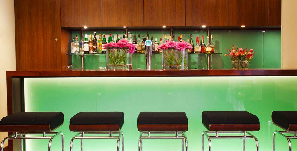 Après votre journée de visites, détendez-vous au bar