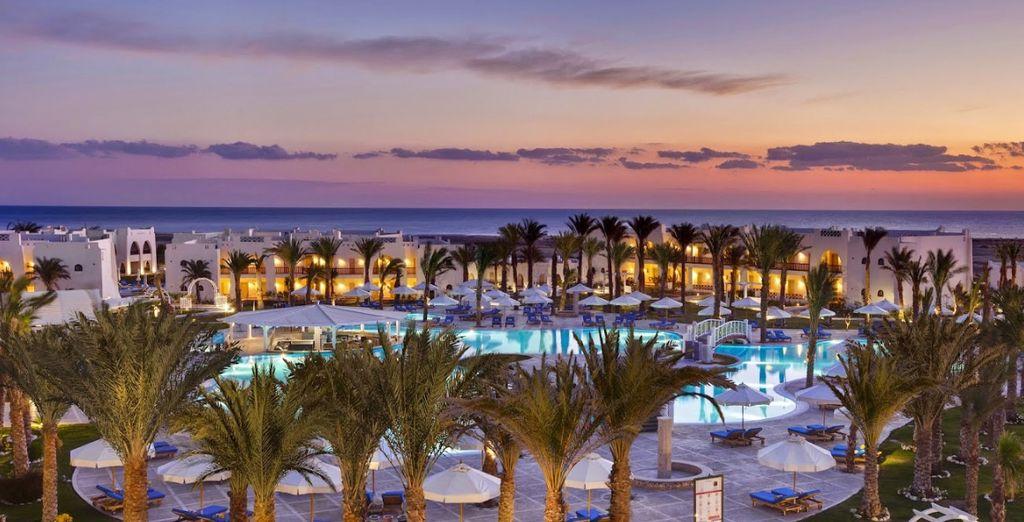 Bienvenue au Hilton Nubian 5*