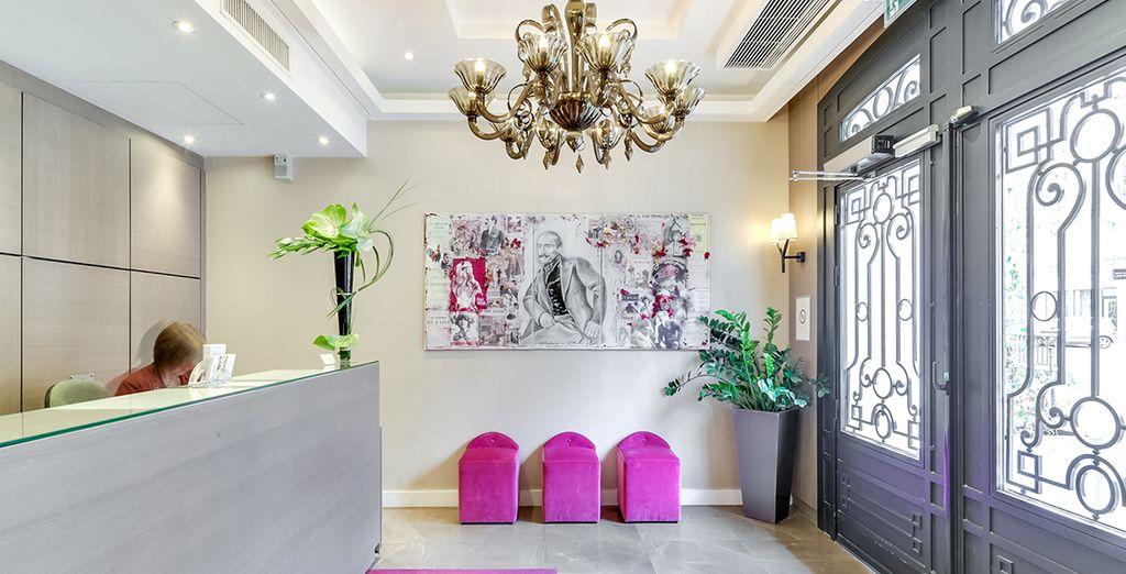 Poussez les portes de l'hôtel Edmond 4*, qui vous accueille dans l'ancienne demeure d'Edmond Rostand