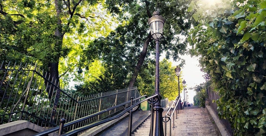 Flânez dans les ruelles de Montmartre