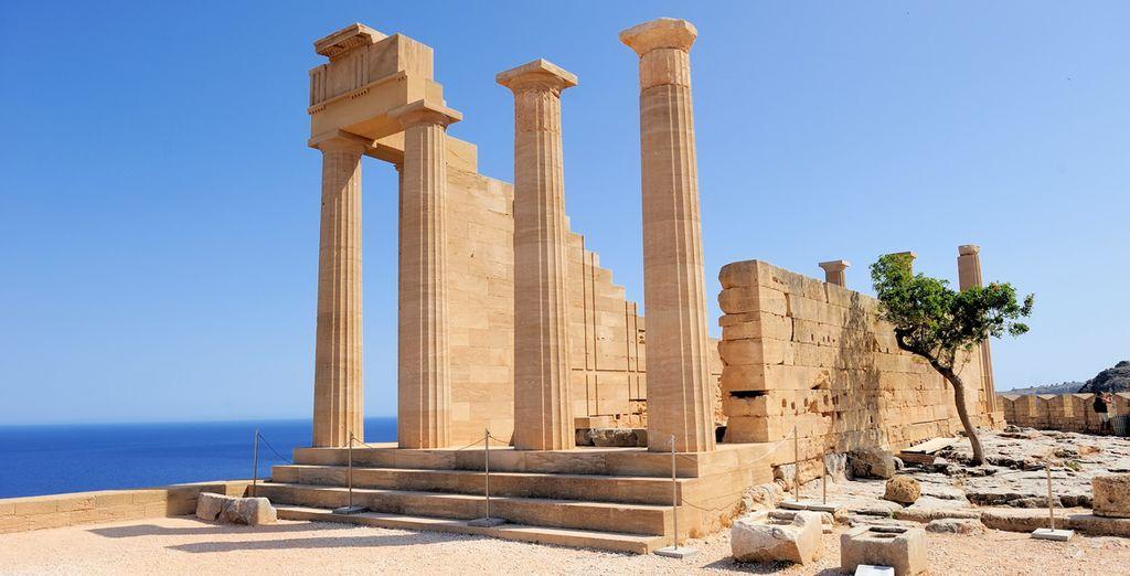 Avant de partir à la découverte des trésors de Rhodes