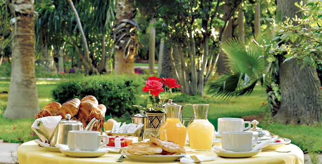 Savourez votre formule petit-déjeuner