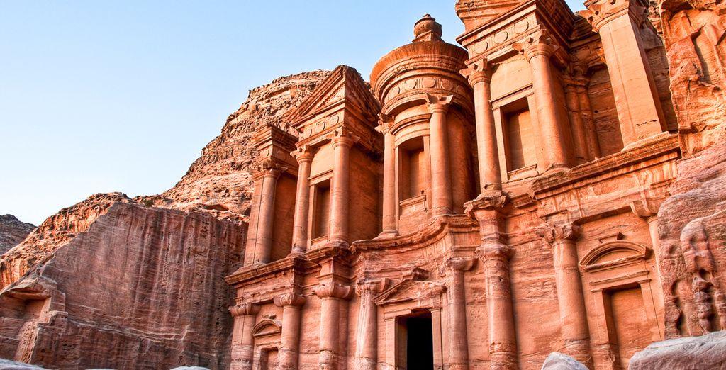 Site archéologique de Petra, lieu incontournable de la Jordanie