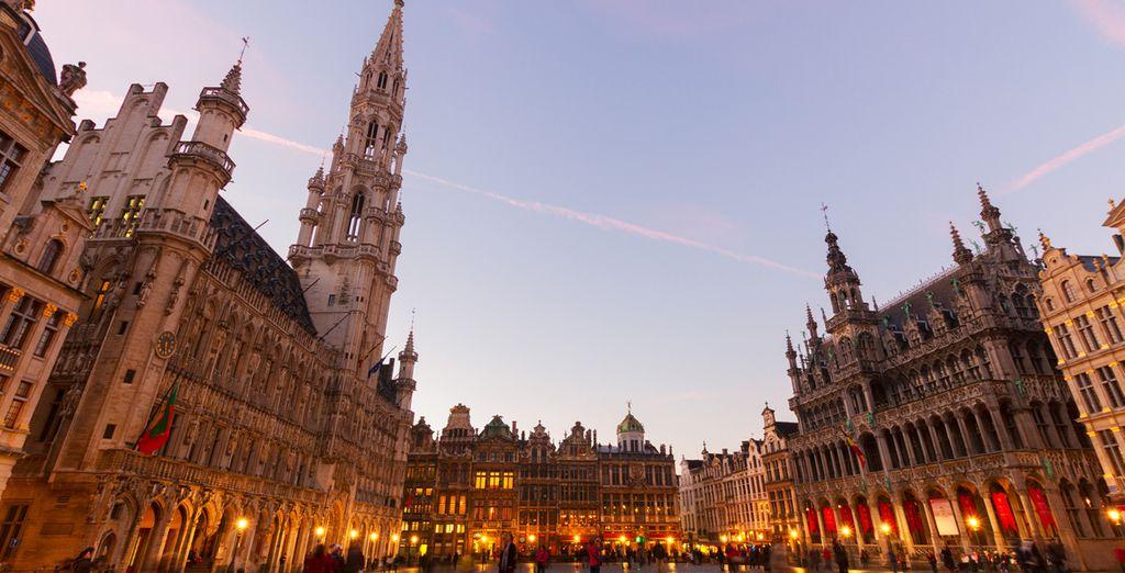 Photographie des monuments historique de Bruxelles et son centre-ville
