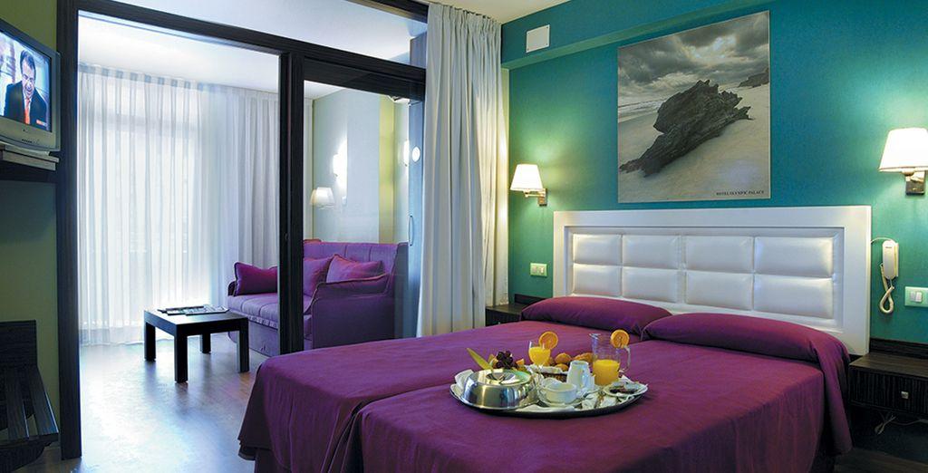 Hôtel de luxe en Espagne