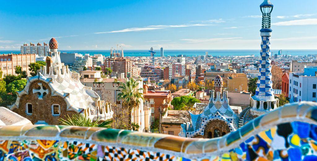 Photographie de la ville de Barcelone en Espagne
