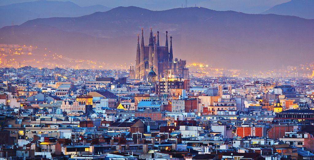 Photographie de la ville de Barcelone