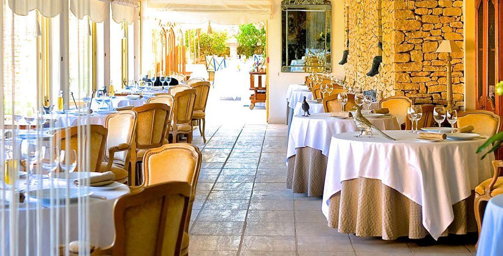 Une cuisine gastronomique inspirée du terroir provençal