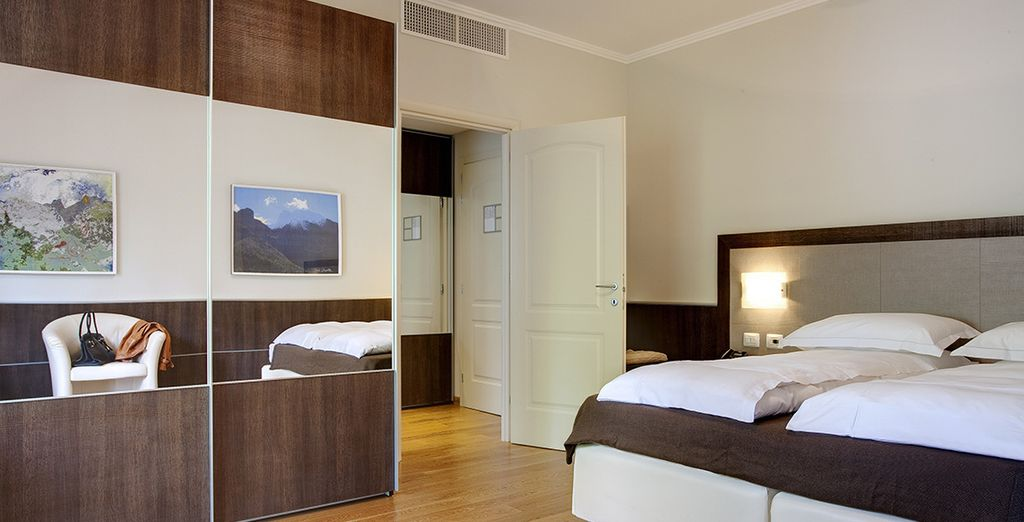 Confortablement installé en chambre Supérieure avec vue panoramique