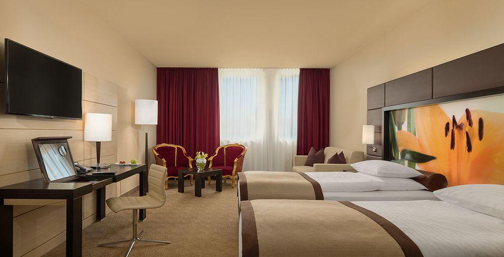 Hôtel 4 étoiles à proximité de toutes activités à Vienne